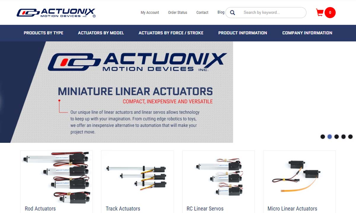 Actuonix Motion Devices
