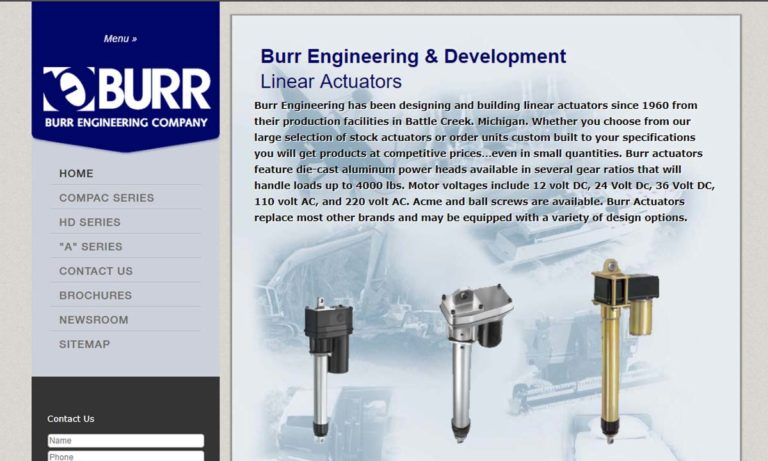 Burr Engineering & Development Company