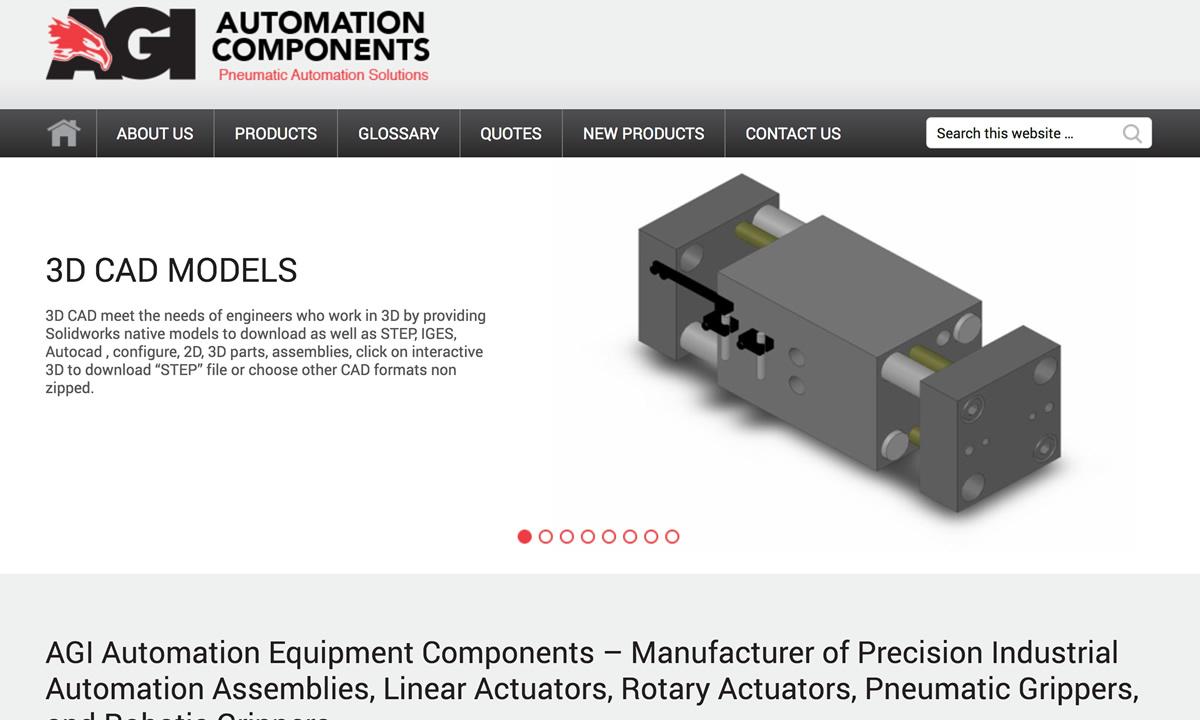 AGI Automation Components