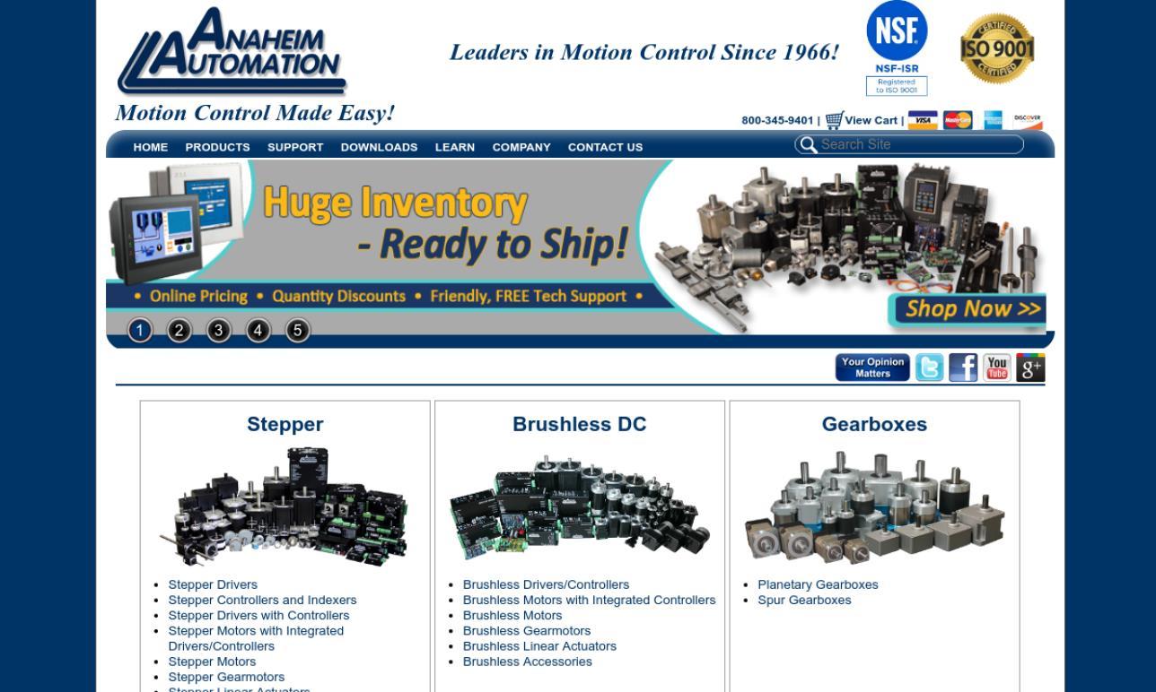 Anaheim Automation Company