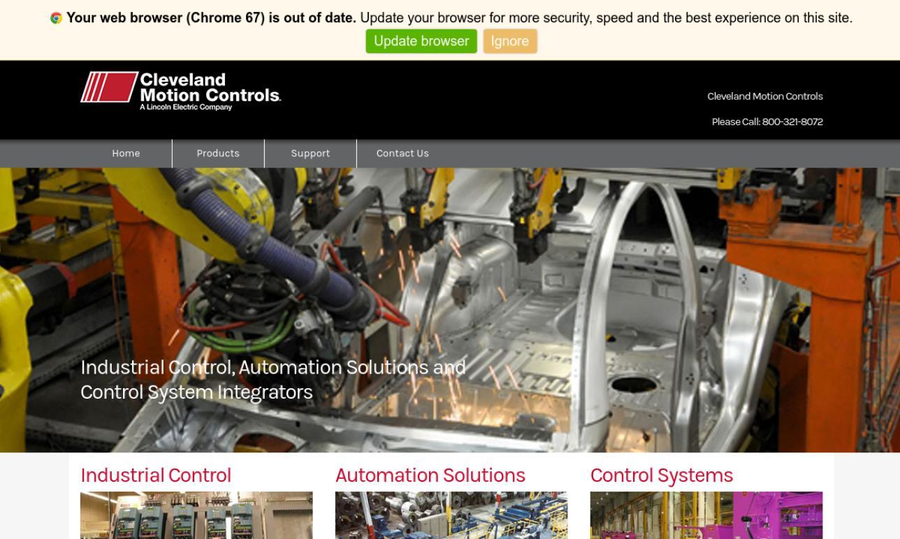 Cleveland Motion Controls, Inc.