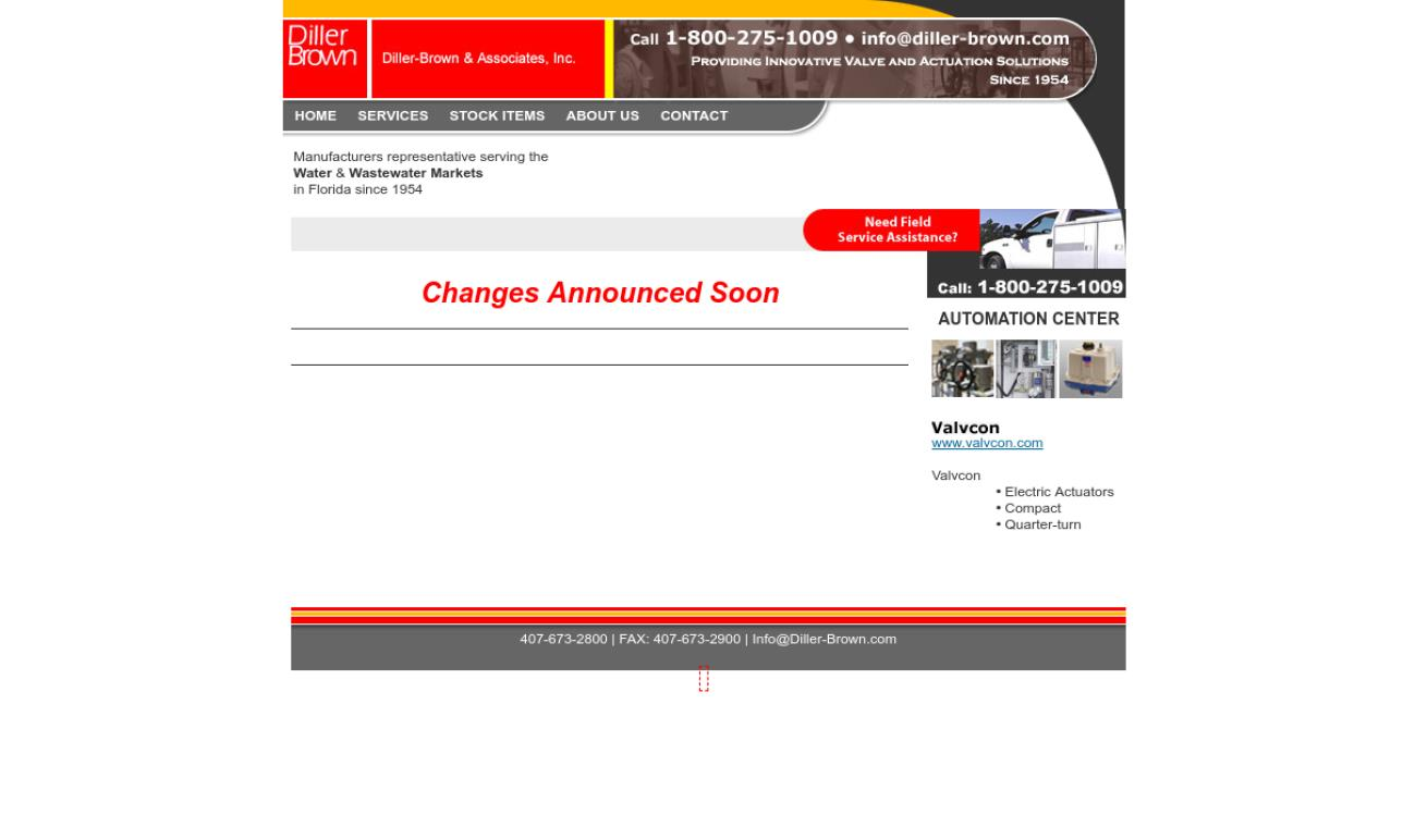Diller-Brown & Associates Inc