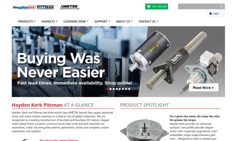AMETEK Haydon Kerk Motion Solutions, Inc.