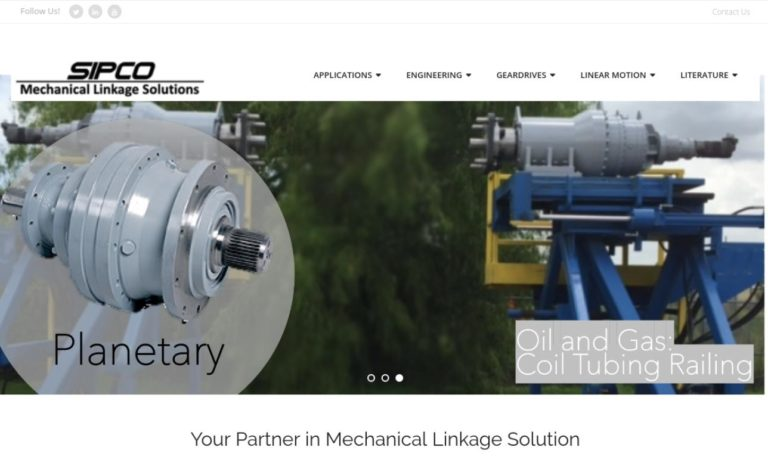 SIPCO Mechanical Linkage Solutions
