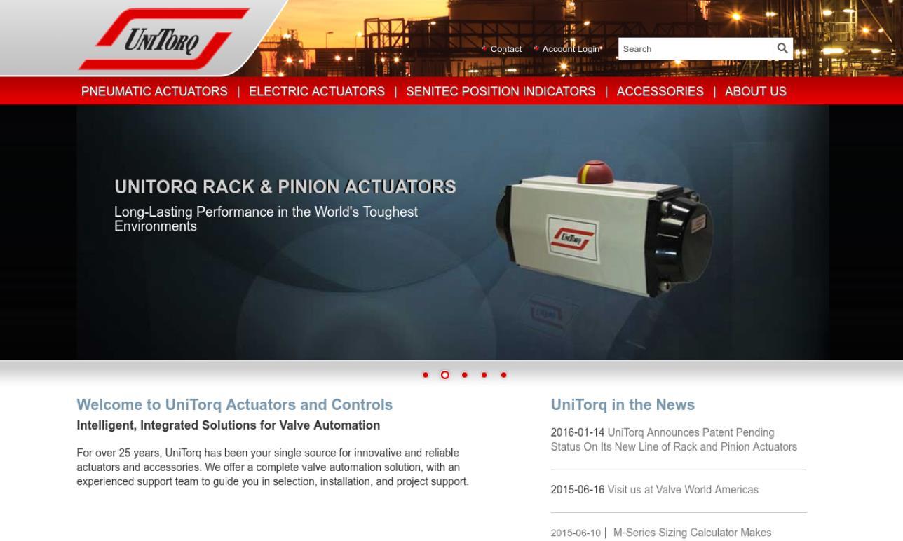 Unitorq Actuators Amp Controls Linear Actuator Manufacturers